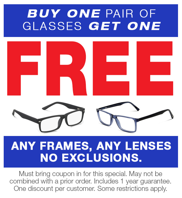 Buy One Get One Free Eye Glass Frames