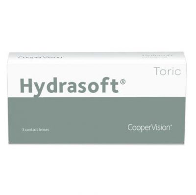 hydrasoft-toric contact lenses 3-pack
